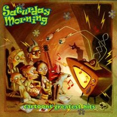 Saturday Morning: Cartoons' Greatest Hits by Various Artists (CD) New Sealed Matthew Sweet, Liz Phair, Butthole Surfers, Popeye The Sailor Man, Collective Soul, Josie And The Pussycats, Power Pop, Saturday Morning Cartoons, Great Albums