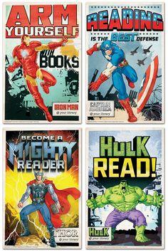Be A Super Hero Read Poster Capstone Super Hero