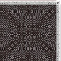 Hand Weaving Draft: ecw506000, Motif-On-Path Project, Ralph Griswold, 8S, 8T - Handweaving.net Hand Weaving and Draft Archive