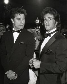 John Travolta & Sylvester Stallone