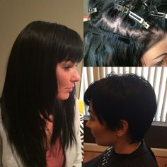 Before and After Effects of hair extensions!   I sew it so they don't know it Follow Follow Follow Follow  @CelebraD.Hair