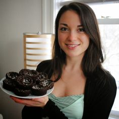 My black bean brownie recipe (gluten-free, vegan) with photos by Mary Polleys.