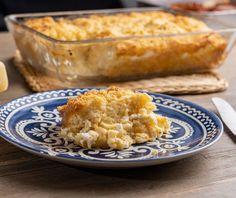 Τυρόπιτα σουφλέ με φύλλο κανταΐφι | Συνταγή | Argiro.gr Food Categories, Quiche, Macaroni And Cheese, Food And Drink, Bread, Cooking, Ethnic Recipes, Instagram, Gastronomia