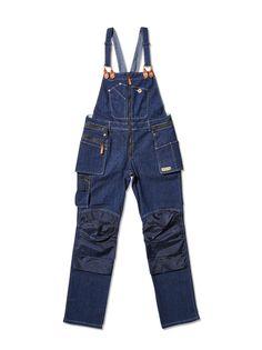 Snickarbyxa dam - Flora Worker bib pants