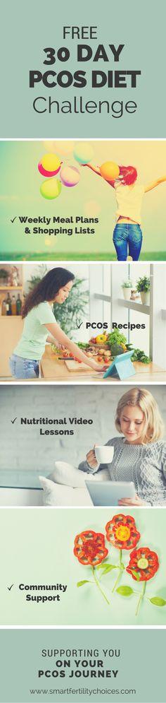30 day Pcos diet challenge