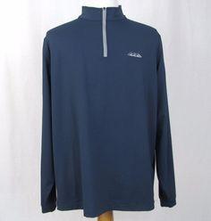 Peter Millar Element 4 Wicking Sweater XL Desert Mountain Golf 1/2 Zip Pullover #PeterMillar #12Zip