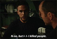 Leo Fitz- it was only a few seconds of his guilt and confusion but it BROKE MY HEART.
