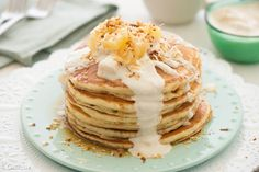 Pancakes are always a big deal in our home. They are considered celebration food because they are served on weekend mornings for someone's birthday, holiday or a special milestone has been reached. Yogurt and buttermilk pancakes are extra fluffy and so delicious in comparison to the boxed stuff. They only take just a few minutes […]