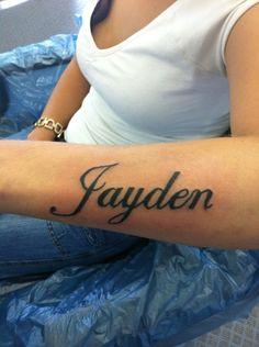 Arm Name Tattoo Ideas Tattoo Ideas Pinterest Name Tattoos