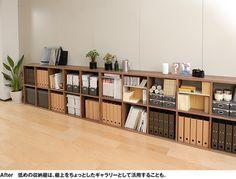 低めに並べて、上にグリーンや雑貨を並べても♪ Maison Muji, Room Interior, Home Interior Design, Muji Furniture, Muji Storage, Studio Decor, Muji Home, Study Room Decor, Studio Apartment Decorating