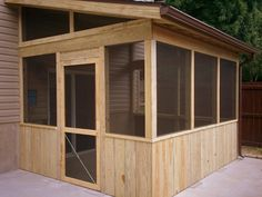 screened porch over patio in st louis mo by archadeck