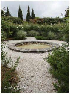 basin water white garden
