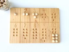 1-10 Number Board