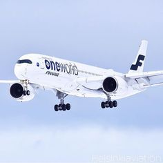 Finnair A350, looking very sleek!
