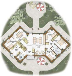 Sims 4 Houses, Love Design, Planer, Bungalow, House Plans, Kids Room, Sweet Home, Floor Plans, Flooring