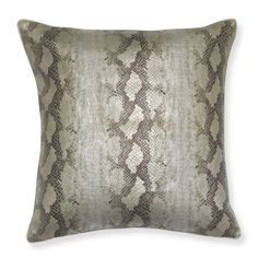 Serpent Skin Pillow Cover - Williams Sonoma http://www.williams-sonoma.com/products/serpent-skin-pillow-cover/?pkey=chome-new&