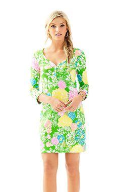 Palmetto V-Neck T-Shirt Dress - Lilly Pulitzer
