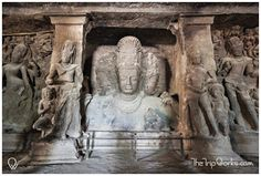Often considered as the city of caves, #ElephantaCaves needs to be on your #TravelBucketList when in #Mumbai.