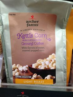 Archer Farms Limited Edition Kettle Corn Ground Coffee by theimpulsivebuy, via Flickr