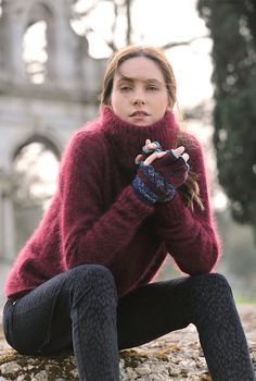 Mohair Polo Neck - Women's Jumpers | Brora