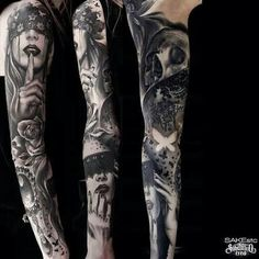 Realistic girls full sleeve