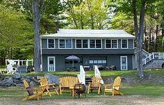 Wonderfully appointed 3 Bedroom House Directly on a Secluded Sandy BeachVacation Rental in Sebago Lake from @homeaway! #vacation #rental #travel #homeaway