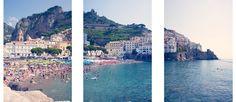 Amalfi Triptych | Gray Malin