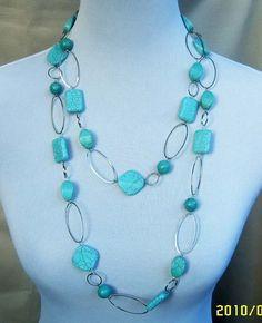 beadwork necklacebid necklacestatement necklacestrand por Arkpearl, $16.00
