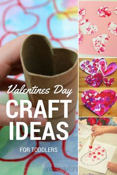 Looking for some Valentine's Day activities to do with kids?  Take a look at my Easy Valentines Day Craft Ideas for toddlers post over on my blog at http://www.roseyhome.com.  #craft #toddler #children #valentinesday #valentinesdaycards #homemade #activities #inspiration #valentines #heart