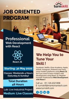 turnskill is an online training provider with the most effective learning system in the world. We help professionals to tune your skill and for career growth. Effective Learning, Web Development, Online Courses, 30th, Innovation, Coaching, Classroom, Link, Modern