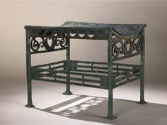 Bronze stool. British Museum.