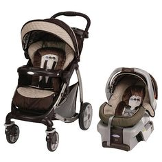 The Stylus Travel System Stroller in Elefanta offers enhanced features like a one-hand fold, adjustable leg rest with infant enclosure, a height-adjustable handle and the top-rated SnugRide 30 Infant Car Seat to help you and baby explore in style and comfort.