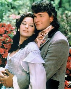 North and south - Lesley-Anne Down e Patrick Swayze sono Madeline Fabray LaMotte e Orry Main Patrick Swayze, North And South, Civil War Movies, 1980s Tv, Mejores Series Tv, Bon Film, Image Film, Idole, Actrices Hollywood
