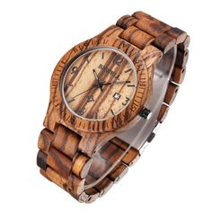 Classical-Bewell-Hour-Date-Round-Dial-Wooden-Band-Mens-Analog-Quartz-Wrist-Watch