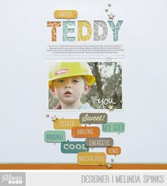 Love this!  Leftovers layout tutorial by Melinda Spinks via JillibeanSoup Blog