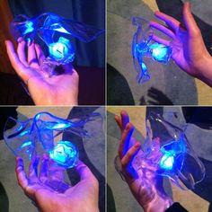How to make magic glowy magic hand magic