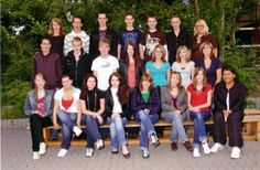 my old school class. realschule kirchberg, class 10.
