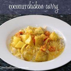 Coconut Chicken Curry  #Recipe  #CoconutChicken  #Curry