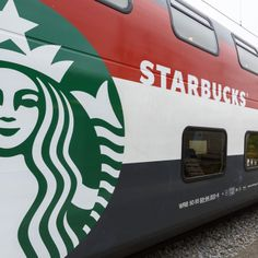 Starbucks and SBB unveiled the first Starbucks store on a train