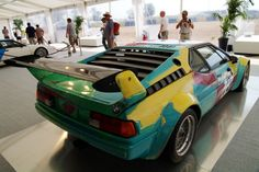 Bmw 3.0 CSL Gr. 5  Painted by Andy Warhol