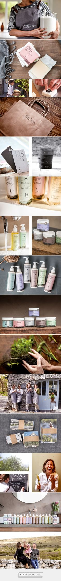 The Burren Perfumery - Packaging on Behance...