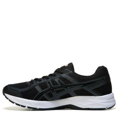 ASICS Women's Gel-Contend 4 Wide Running Shoes (Black/Black/Carbon) - 10.0 W