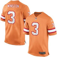 Wholesale NFL Jerseys cheap - Tampa Bay Buccaneers Women's Orange Nike Retro Tri Reverse Logo ...