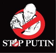 Stop Putin signs look just like Ghostbuster signs. It's true. Read the article.