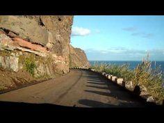 The old Regional Road (ER 101), between Madalena do Mar, Sitio dos Anjos (Canhas) and village of Ponta do Sol. Video by Jose Lemos.