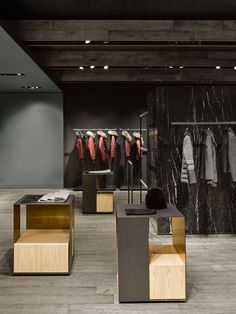 331 best clothing store design images in 2019 Showroom Design, Shop Interior Design, Retail Store Design, Retail Shop, Clothing Store Design, Shop House Plans, Retail Interior, Retail Space, Commercial Interiors