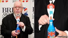 Artist Sir Peter Blake discusses his design for the 2012 Brit Award. Beatles Albums, The Beatles, Peter Blake Artist, Brit Pop, Pop Art Movement, Lonely Heart, Band Aid, Concert Posters, Sleeve Designs