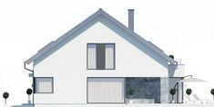 kuchnia13,44 Shed, Floor Plans, Outdoor Structures, Outdoor Decor, Home Decor, Detached House, Architecture, Decoration Home, Room Decor