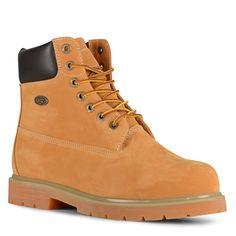 "Lugz Men's Drifter 6"" Steel Toe Work Boots (Wheat/Bark/Tan/Gum)"