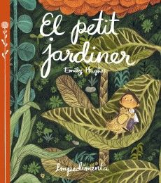 The Little Gardener By Emily Hughes Published by Flying Eye Books Being a huge fan of Emily's debut picture book, Wild (I revie. Book Cover Design, Book Design, Emily Hughes, Albin Michel Jeunesse, Album Jeunesse, All Nature, Children's Picture Books, Children's Literature, Children's Book Illustration